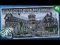 Sims 4 Tudor Manor Speed Build Prt1: House | Tudor Revival Architecture