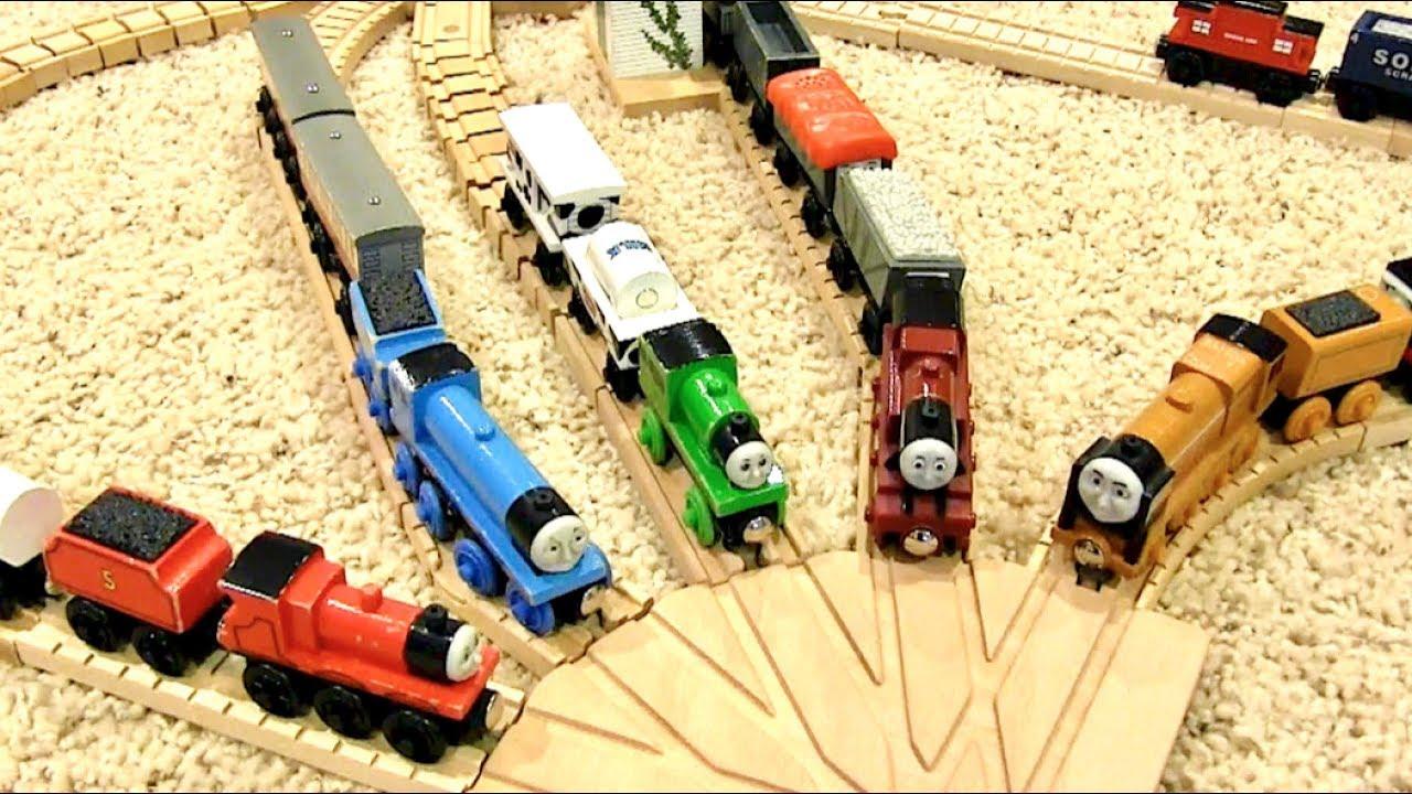Thomas Wooden Railway Layout 14 Remake Of Seasons 1 2