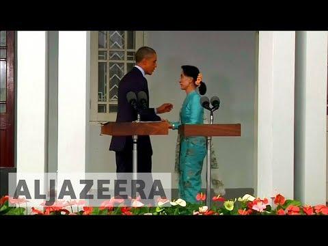Aung San Suu Kyi remains popular in Myanmar despite international condemnation