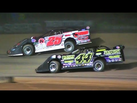 WoO 75 lap Late Model Feature 8-27-17 Merritt Speedway