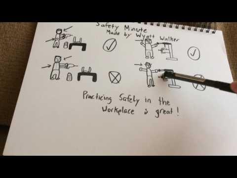 Safety Minute by Wyatt Walker