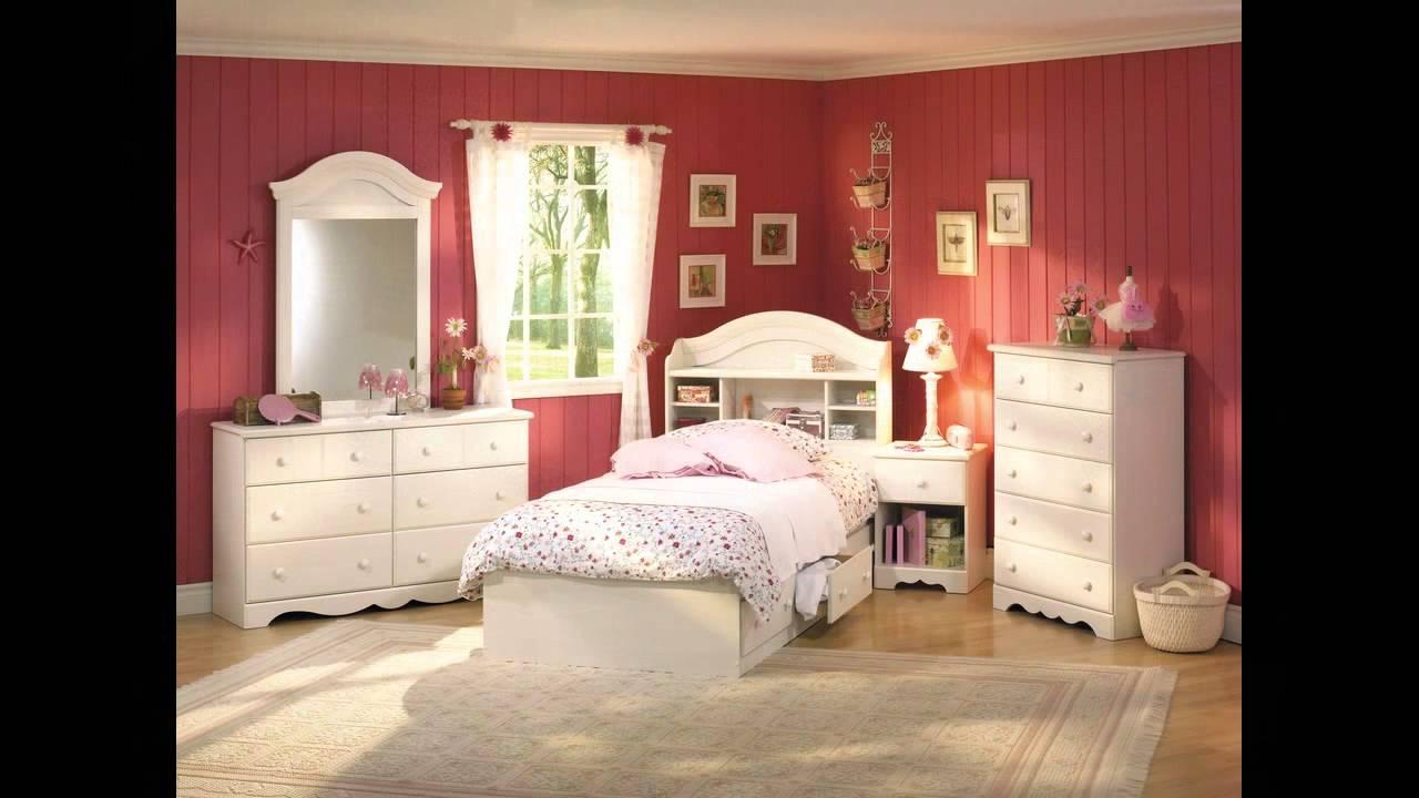 Ikea Girls Bedroom Set - YouTube