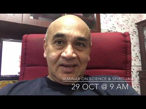 Seminar on SCIENCE and SPIRITUALITY invitation