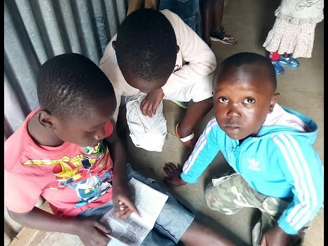 Children from the Kibera Slum Kenya Worshipping Jesus 9 23 2018