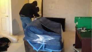 Embalar un sofa de mudanzasvalemcia.com Mudanzas.