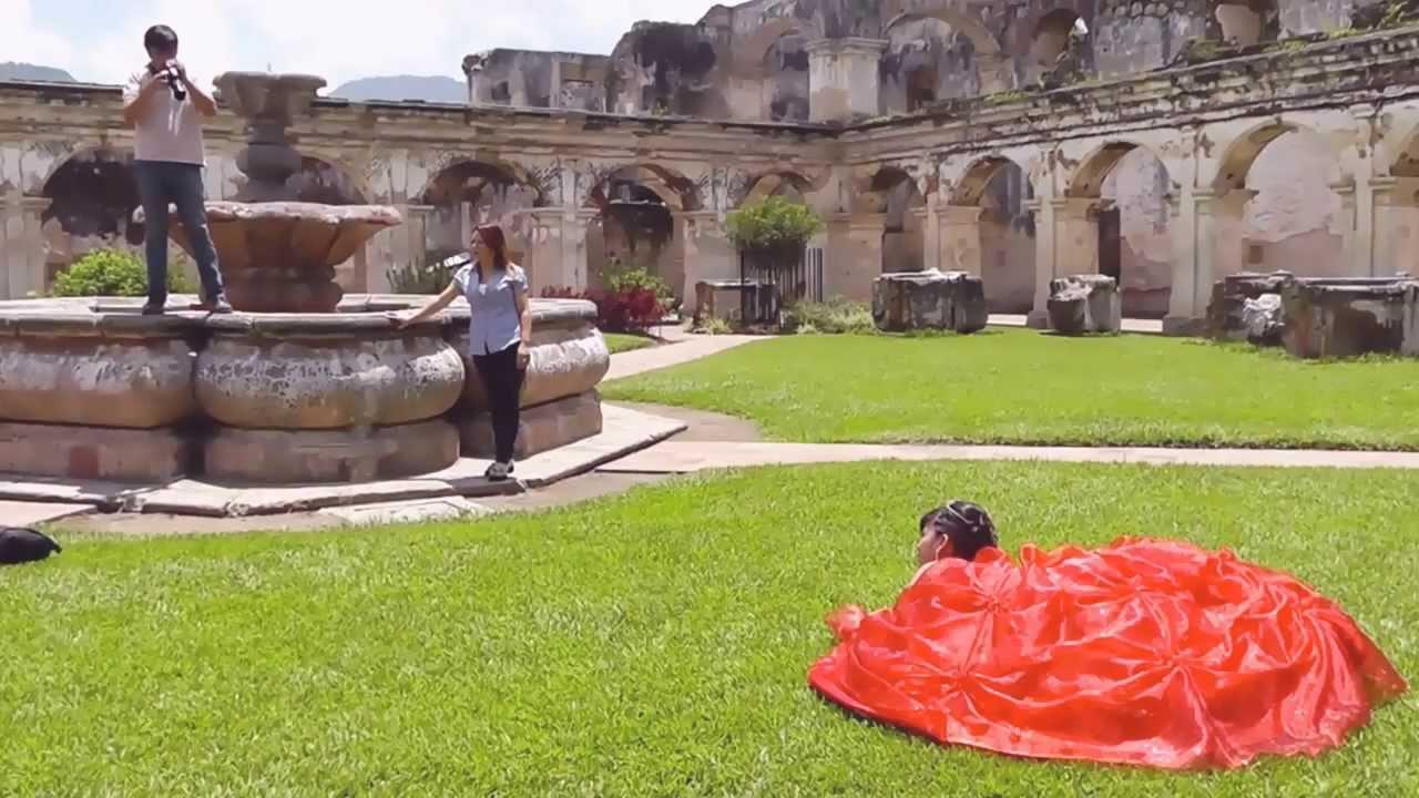 568d8fceb Detras de camaras - Sesion de fotos en Antigua - YouTube
