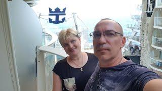 Развлечения в круизе. День в море. Лайнер Oasis of the Seas.