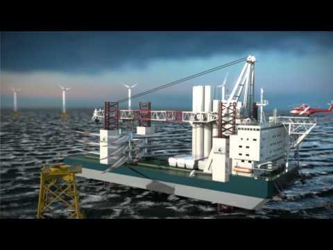 High Performance Turbine Installation Vessel | Wärtsilä