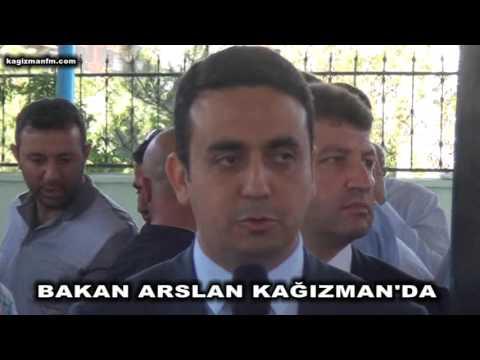 ulaştırma bakanı Ahmet Arslan Ramazan bayramında baba ocağında,