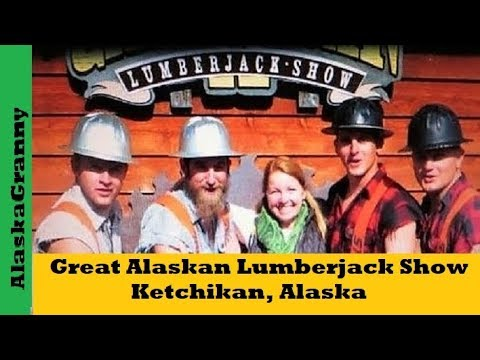 Great Alaskan Lumberjack Show Ketchikan Alaska Youtube