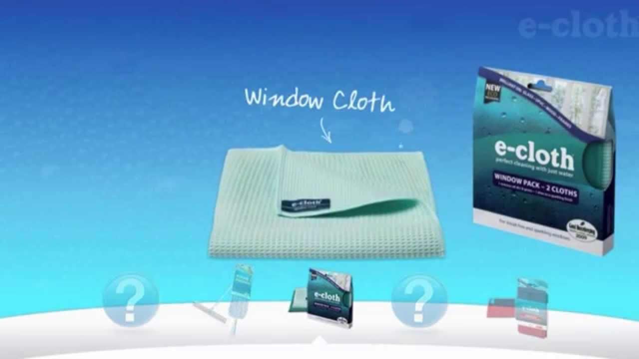 E cloth window pack chemical free window cleaning youtube - Best cloth for cleaning windows ...
