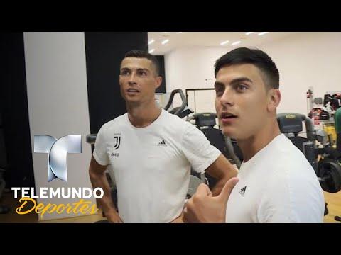 Cristiano conoció a sus compañeros (o rivales) en la Juve | Más Fútbol | Telemundo Deportes