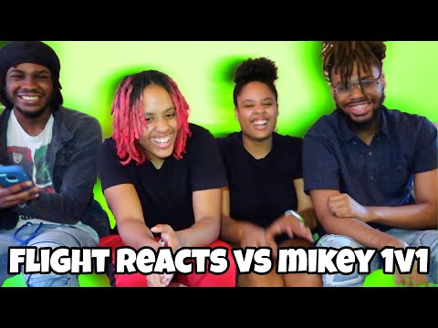 FLIGHT VS MIKEY 1V1 REACTION VIDEO