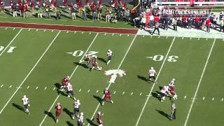 Brison Williams Pick Six vs. South Alabama