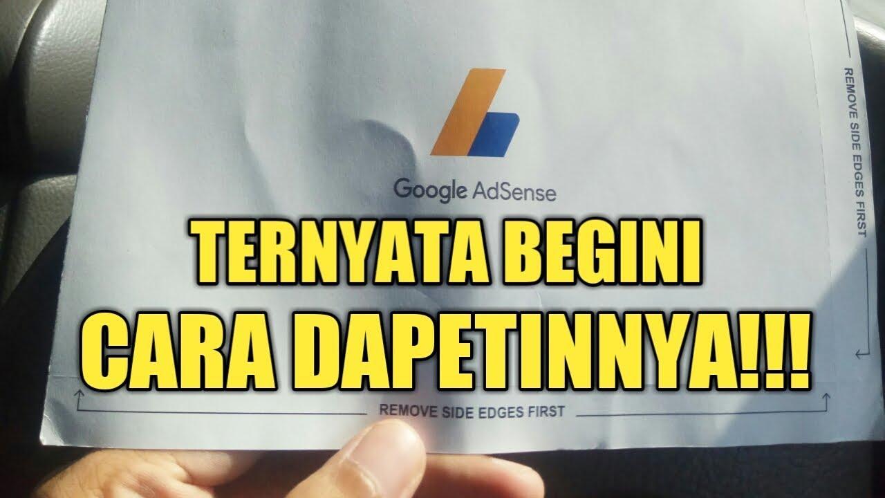 PANTESAN GAK SAMPE2! BEGINI CARA MENDAPATKAN PIN GOOGLE ADSENSE DI 2020 I VLOG #52 - YouTube