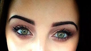 semi permanent eyebrows brow tattoo video diary before during healing after