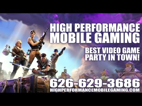 High Performance Mobile Gaming (626) 629-3686 Video Game Truck Trailer Party Event Entertainment