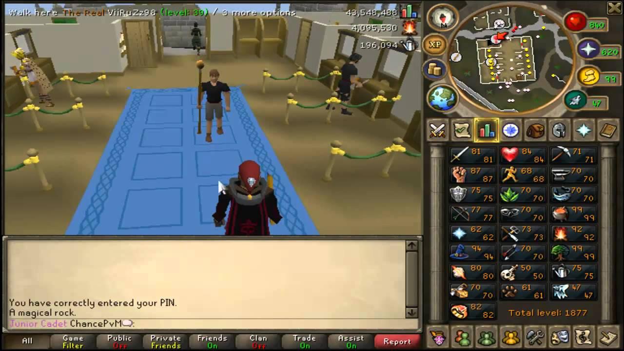 Runescape Vlog 1 94 Magic92 FireMaking