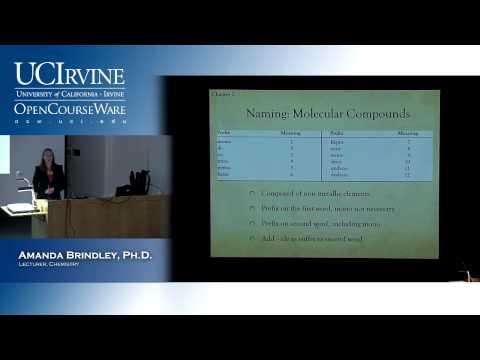 General Chemistry 1A. Lecture 02. Acids & Covalent Nomenclature/ Mole Masses & Energy.