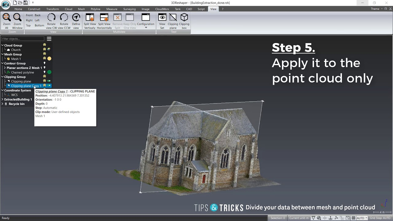Point Cloud To Depth Image