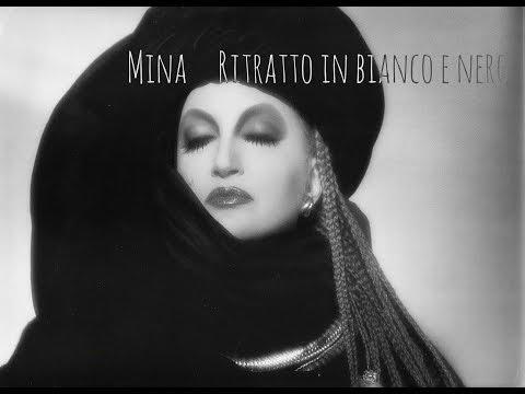 Mina - Ritratto in bianco e nero