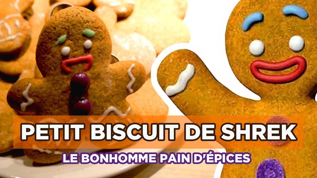 La recette du p 39 tit biscuit en pain d pices de shrek - Pain d epice shrek ...