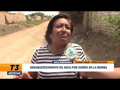 DESABASTECIMIENTO DE AGUA POR AVERÍA EN LA BOMBA
