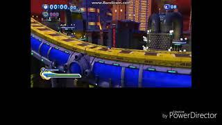 Прохождение игры Sonic Generations-#3 Прошёл зону за одно видео.