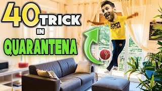 IMPARA 40 TRICK FACILI in QUARANTENA !!  FOOTWORK Italia