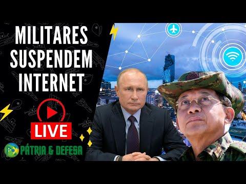 Myanmar Sem Internet, E os Russo Podem Fazer o Mesmo
