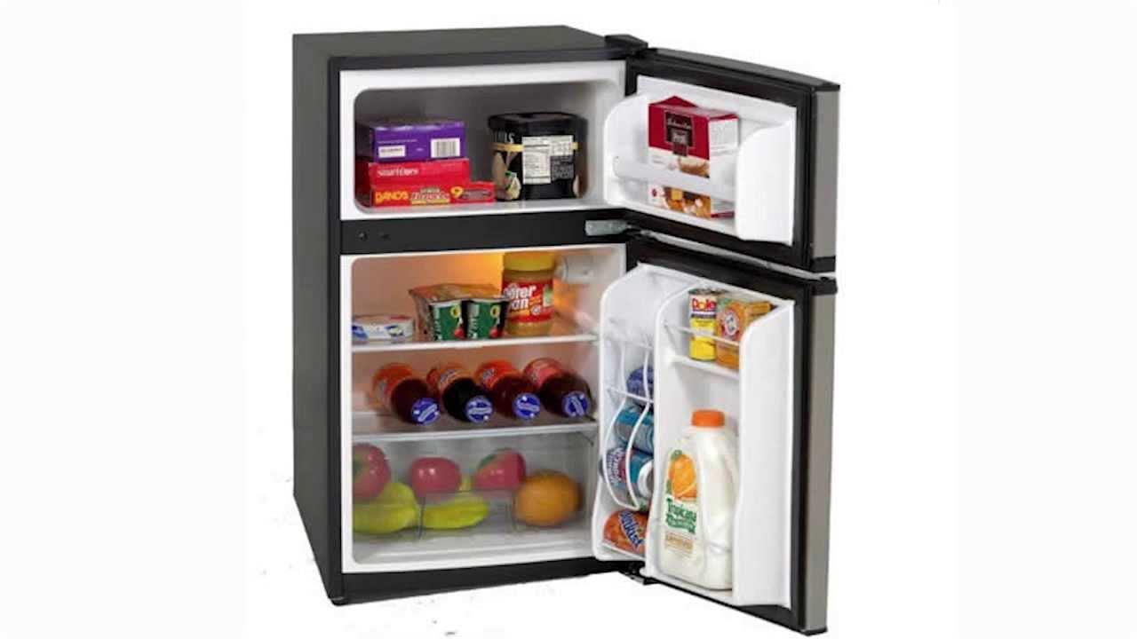 Great Ft. Two Door Compact Refrigerator/Freezer  RA3136SST   YouTube
