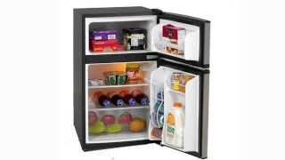 Avanti Energy Star 3.1 Cu. Ft. Two Door Compact Refrigerator/Freezer- RA3136SST Thumbnail