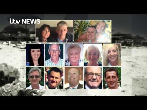 British victims named in the Tunisia beach attack