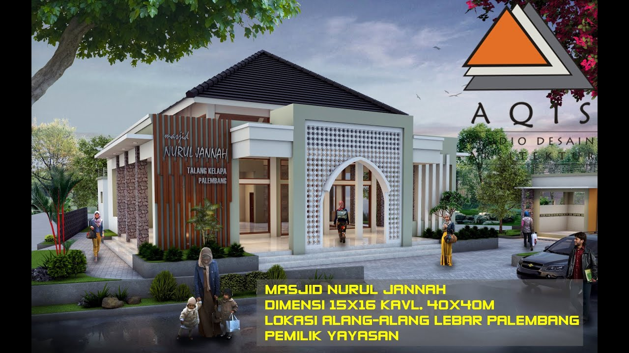 Desain Masjid Minimalis Youtube
