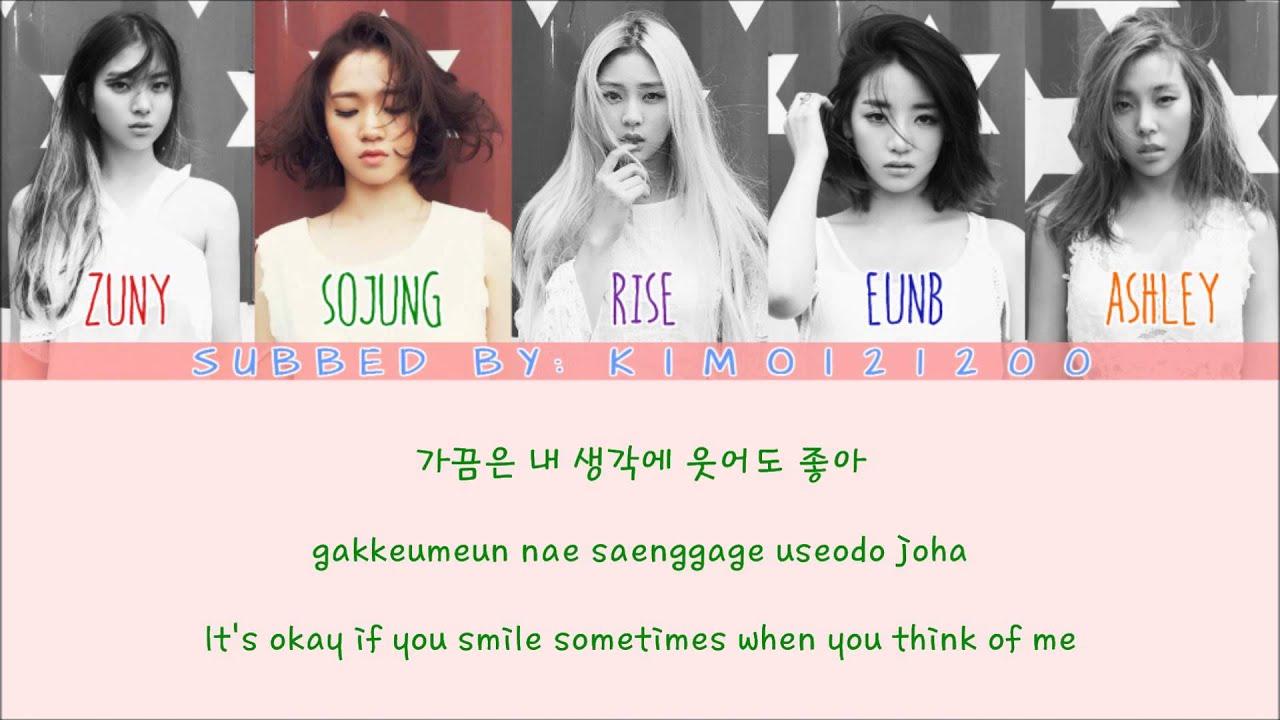 Korean Girl Wallpaper Desktop Ladies Code I M Fine Thank You Hangul Romanization
