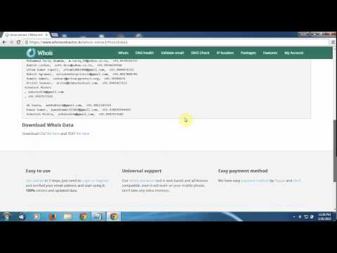 Whois Extractor   Get Easy Way 100% Free