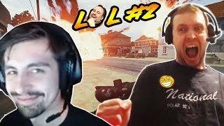 SHROUD reacts to Arthas plays LUL #2 best pogchamp wtf moments (PUBG playerunknown