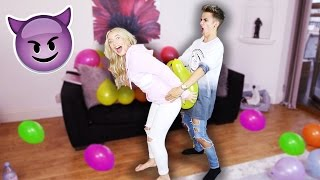 One of Jake Mitchell's most viewed videos: BALLOON CHALLENGE!!