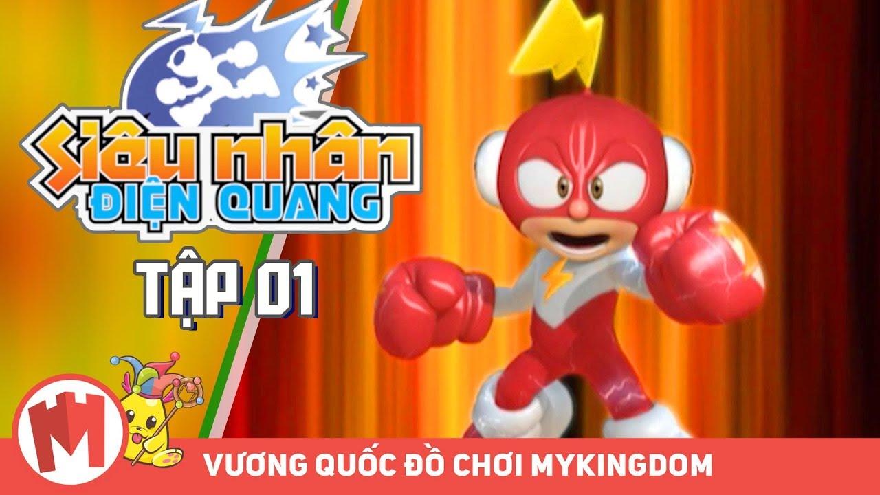 SIÊU NHÂN ĐIỆN QUANG | Tập 01: Ngài Nutty Bandit – Phim Hoạt Hình Robot