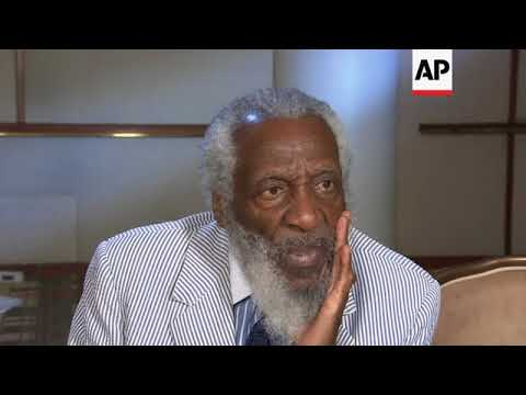 US comedian, civil rights activist Dick Gregory dies