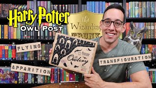 HARRY POTTER UNBOXING | The Wizarding Trunk Lessons: Transfiguration, Flying, and Apparition