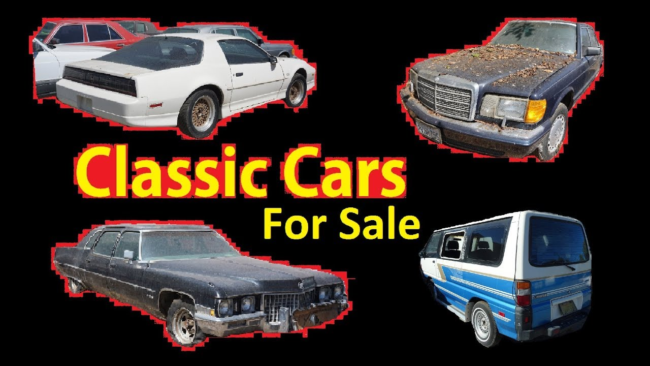 Buy Classic Barn Find Cars Project Car For Sale 250 Up