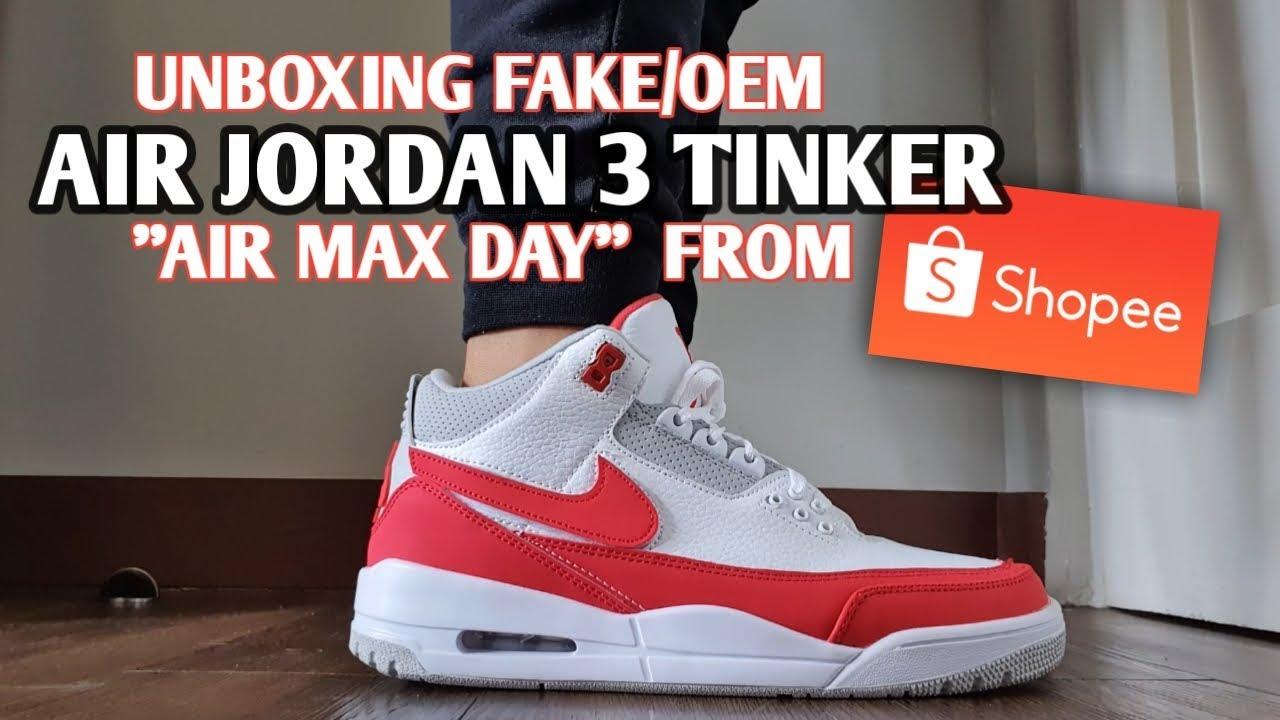 fake Air Jordan 3 Tinker Air Max Day