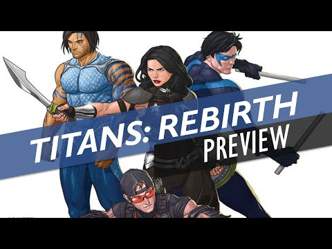 Titans: Rebirth - Preview (DC Universe: Rebirth)