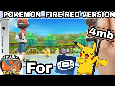 pokemon fire red rom download gba android