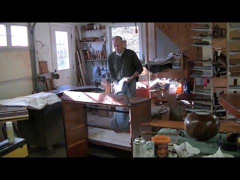Eliminating Odors from an Antique Chest of Drawers - Thomas Johnson Antique Furniture Restoration