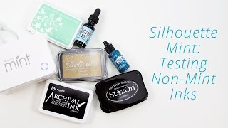 Can You Use Other Brands of Ink with the Silhouette Mint?