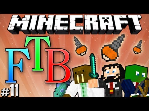 "Minecraft: Feed the Beast #11 ""Powertools & Ostrich Breeding"""