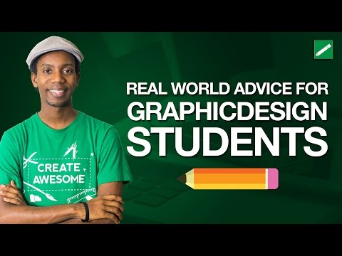 Real World Advice for Graphic Design Students About Design School