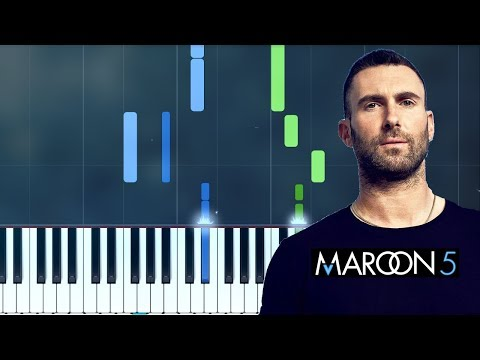 "Maroon 5 - ""She Will Be Loved"" Piano Tutorial - Chords - How To Play - Cover"